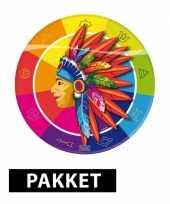 Feest indianen thema decoratie pakket