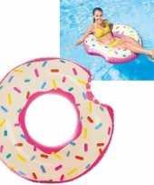 Feest intex donut tube 107 cm