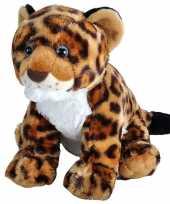 Feest jaguars luipaarden speelgoed artikelen jaguar knuffelbeest gevlekt 35 cm