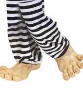 Feest jumbo voeten van vinyl