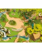 Feest jungle kinderkleed 95 x 135 cm