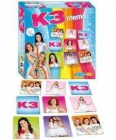 Feest k3 memory spel met 72 kaartjes