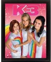 Feest k3 poster 3d 23 x 28 x 5 cm