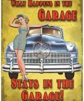 Feest kado voor mannen de garage 10040238