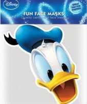 Feest kartonnen masker donald duck
