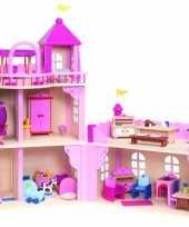 Feest kasteel poppenhuis voor meiden