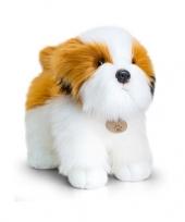 Feest keel toys pluche shih tzu hond knuffel 40 cm