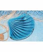 Feest keramieke schelpen schaal 21 cm