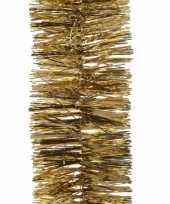 Feest kerst gouden folieslinger christmas gold 270 cm 10097979