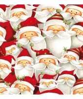 Feest kerst thema servetten 20 stuks