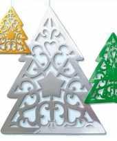 Feest kerstboom kerst decoratie 50 cm