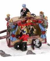 Feest kersthuisje poppentheater kraam