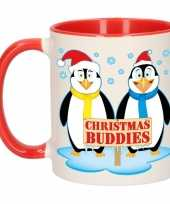 Feest kerstmis mok christmas buddies 300 ml