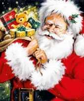 Feest kerstmis thema servetten 20 stuks