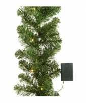 Feest kerstslinger inclusief licht 180 cm