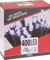Feest kerstverlichting budget helder buiten 400 lampjes