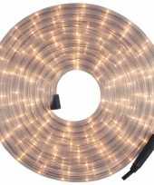 Feest kerstverlichting lichtsnoer lichtslang wit 12 meter voor buiten