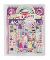 Feest kinder activiteiten boek glamour