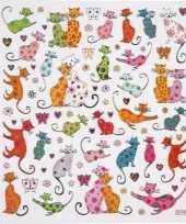 Feest kinder agenda stickers katten