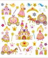 Feest kinder agenda stickers prinsessen 10094028