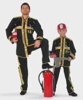 Feest kinder brandweer pak