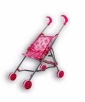 Feest kinder buggy voor poppen roze