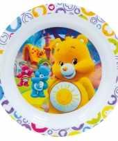 Feest kinder ontbijtbord troetelbeertjes 22 cm