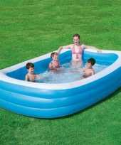 Feest kinder opblaasbaar zwembad 305 cm