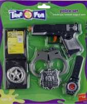Feest kinder politie speelgoed set
