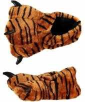 Feest kinder sloffen tijgerpoot