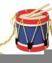 Feest kinder speel trommel van hout