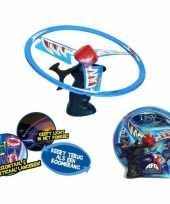 Feest kinder speelgoed ufo met lichteffecten 10046964