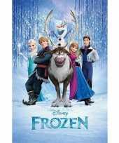Feest kinderkamer poster frozen 10063143