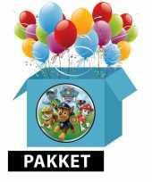 Feest kinderverjaardaardag paw patrol voordeelpakket