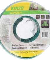Feest kinzo tuinslang groen zwart 25 meter