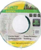 Feest kinzo tuinslang groen zwart 50 meter