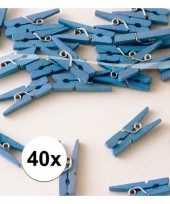 Feest kleine blauwe knijpertjes 10090656