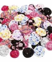 Feest kleine poppenhoedjes 100 stuks