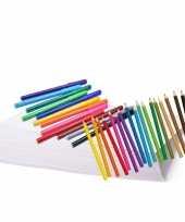 Feest kleurpakket met potloden en stiften