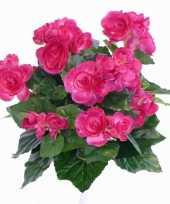 Feest kunst begonia roze 30 cm