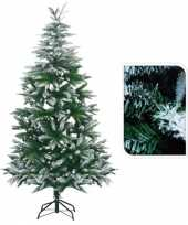 Feest kunst kerstbomen met sneeuw 180 cm