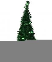 Feest kunst kerstboom 90 cm lametta grote pailletten