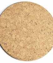 Feest kurk pannen onderzetter dik 20 cm