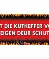Feest kutkeffer sticky devil sticker