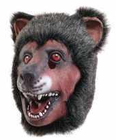 Feest latex dierenmasker beer