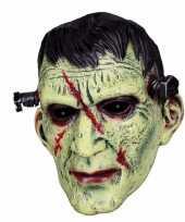 Feest latex horror masker frankenstein