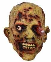 Feest latex horror masker zombie bloedend oog