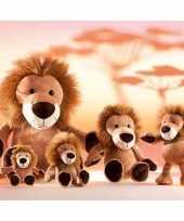 Feest leeuwen knuffel 54 cm