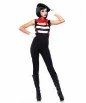 Feest leg avenue mime clown voor dames