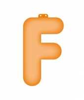 Feest letter f opblaasbaar